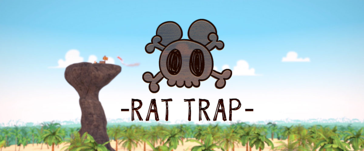 LANCEMENT DU PILOTE EN ANIMATION 3D DE LA SÉRIE RAT TRAP