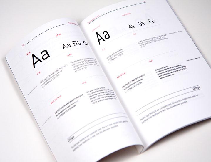 Exemples de de présentation de typographies, les tailles, majuscules, minuscules, textes, etc