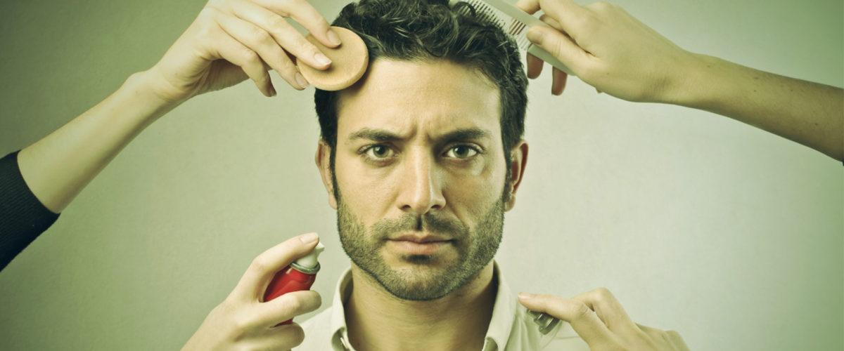 pourquoi ta besoin de maquillage sur ton plateau de tournage