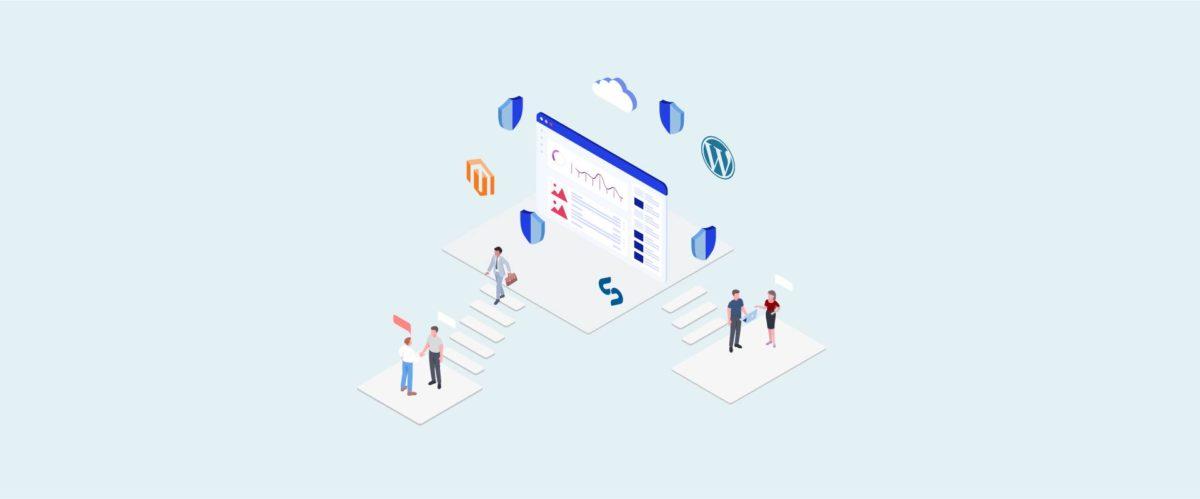 Illustration graphique montrant l'importance d'un site web