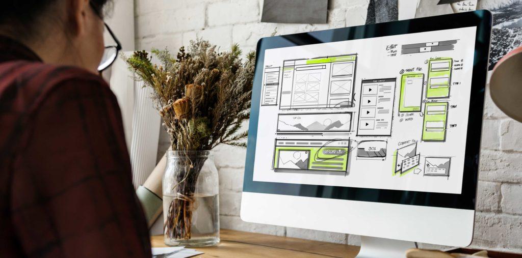Maquette de site web