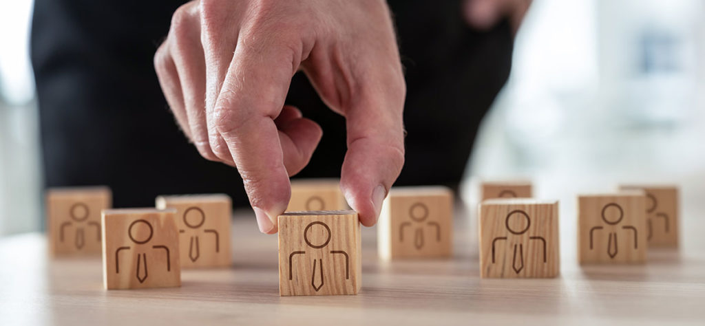 Photo représentation la sélection, comme différencier chaque individu